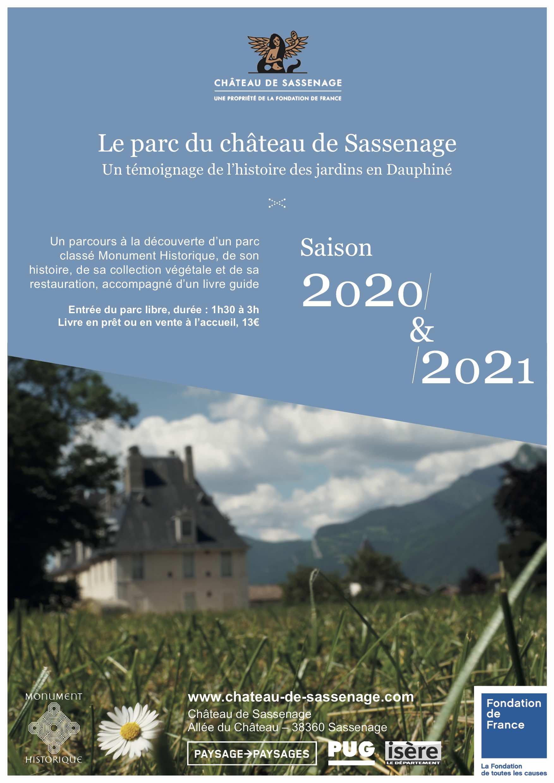 Le parc du château de Sassenage, 350 ans de jardinage